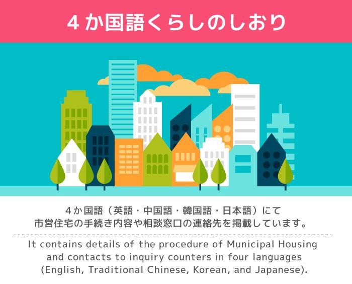 4か国語くらしのしおり